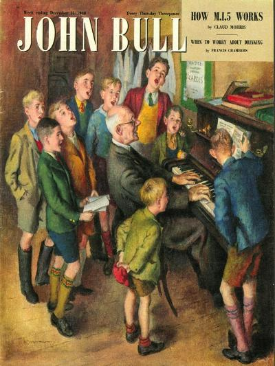 John Bull, School Concerts Singing Pianos Teachers Lessons Magazine, UK, 1948--Giclee Print