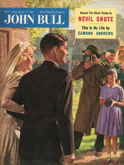 John Bull, Wedding Magazine, UK, 1950--Giclee Print
