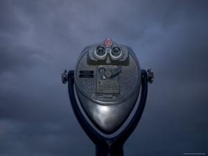 Coin Operated Binoculars by John Burcham