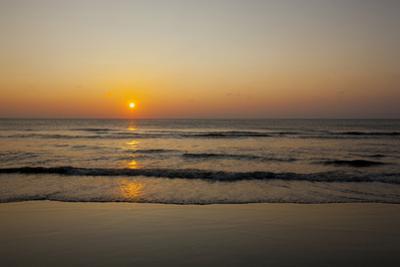 Sunrise At the Beach in Corolla, North Carolina by John Burcham