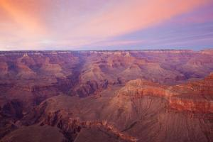 Sunset at Mather Point in Grand Canyon National Park, Arizona by John Burcham
