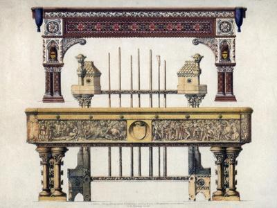 Billiard Tables, 19th Century