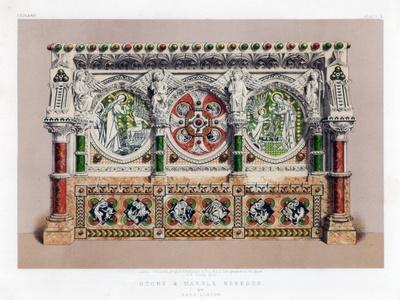 Stone and Marble Reredos, 19th Century