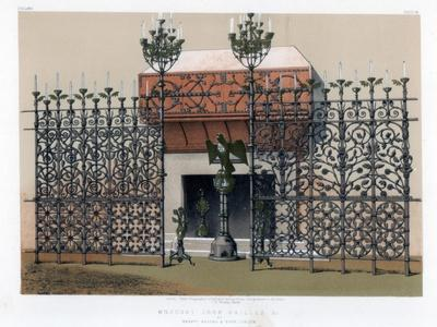 Wrought Iron Grilles, 19th Century