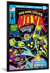Nova: Origin Of Richard Rider - The Man Called Nova No.1 Cover: Nova by John Buscema