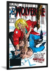 Wolverine No.10 Cover: Wolverine and Sabretooth by John Buscema