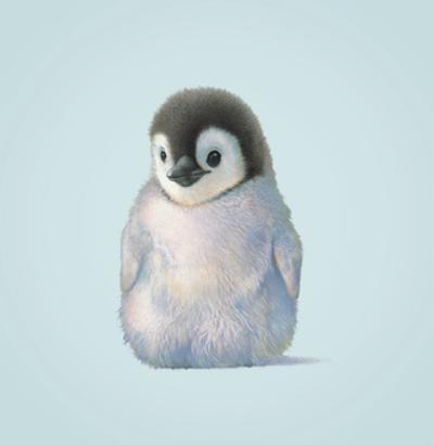 Penguin by John Butler Art