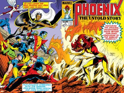 Phoenix: The Untold Story No.1 Cover: Grey