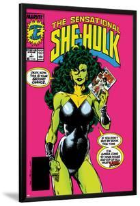 The Sensational She-Hulk No.1 Cover: She-Hulk by John Byrne