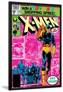 Uncanny X-Men No.138 Cover: Cyclops and X-Men by John Byrne