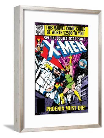 X-Men No.137 Cover: Cyclops, Grey and Jean