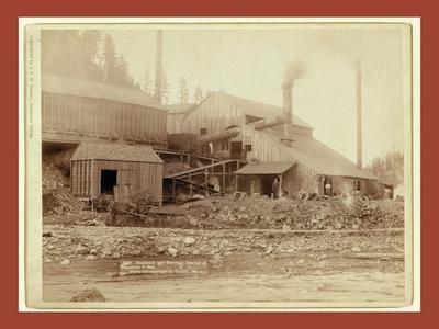 Deadwood and Delaware Smelter at Deadwood, S.Dak