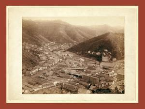 Deadwood, from Mt. Moriah by John C. H. Grabill