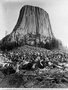 Devil's Tower, Wyoming by John C.H. Grabill