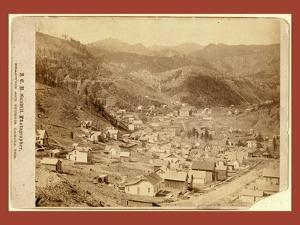 Engleside and Cleveland [Deadwood?] from East of City by John C. H. Grabill