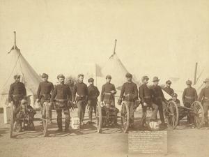 "Famous Battery ""E"" of 1st Artillery, 1891 by John C. H. Grabill"
