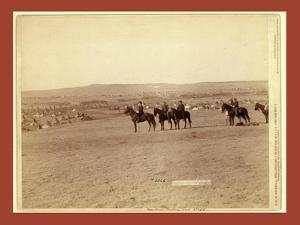 General Miles and Staff by John C. H. Grabill