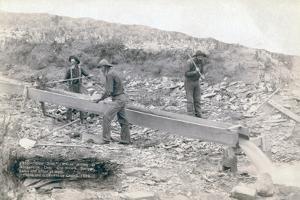 Gold placer mining, Rockerville, 1889 by John C. H. Grabill