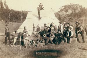 Happy Hours in Camp. G. and B.&M. Engineers Corps and Visitors by John C.H. Grabill