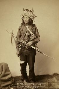 Little, the Instigator of Indian Revolt at Pine Ridge, 1890 by John C.H. Grabill