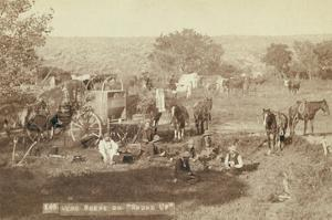 """Mess Scene on """"Round Up"""" by John C.H. Grabill"""