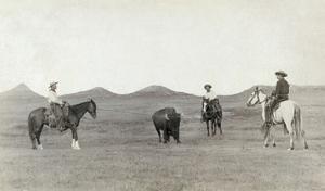 South Dakota: Cowboys by John C.H. Grabill