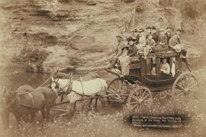 Tallyho Coaching. Sioux City Party Coaching at the Great Hot Springs of Dakota by John C.H. Grabill
