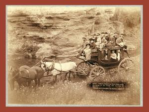 Tallyho Coaching. Sioux City Party Coaching at the Great Hot Springs of Dakota by John C. H. Grabill