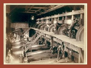 The Interior. Clean Up Day at the Deadwood Terra Gold Stamp Mill by John C. H. Grabill