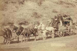 The Last Deadwood Coach by John C.H. Grabill
