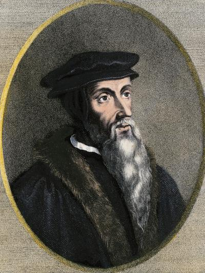 John Calvin Portrait--Giclee Print