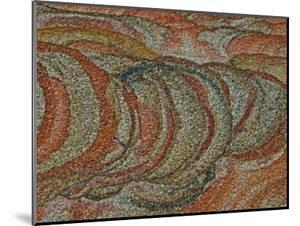 Close-up Detail of Iron Oxide Patterns in Sandstone by John Cancalosi
