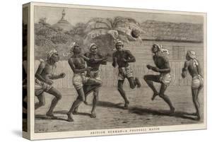 British Burmah, a Football Match by John Charles Dollman