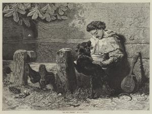 His Only Friend by John Charles Dollman