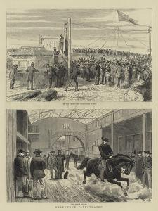 Melbourne Illustrated by John Charles Dollman