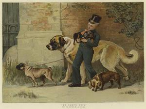 My Lady's Pets by John Charles Dollman