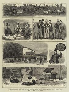 Notes at Goodwood by John Charles Dollman
