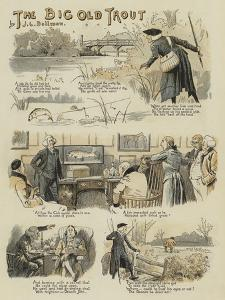 The Big Old Trout by John Charles Dollman
