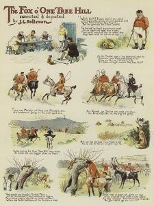 The Fox O'One Tree Hill by John Charles Dollman