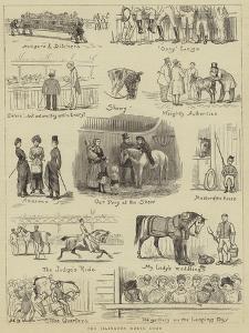 The Islington Horse Show by John Charles Dollman