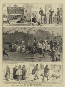 The Land Agitation in Ireland, Sketches at Ballinrobe by John Charles Dollman