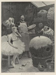 The Pantomime Pudding, a Private View by John Charles Dollman