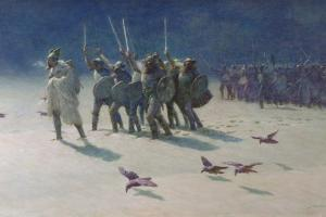 The Ravager by John Charles Dollman