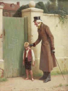 The Village Artist, 1899 by John Charles Dollman