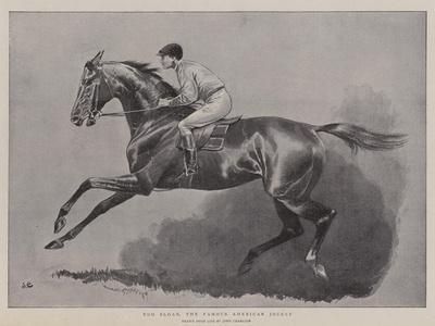 Tod Sloan, the Famous American Jockey