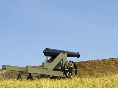 A Cannon at Fort Barrancas, NAS Pensacola Fl.