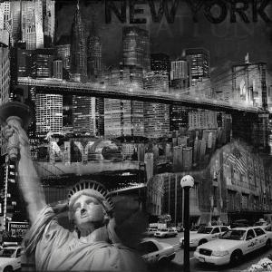 Manhattan in Black and White IV by John Clarke
