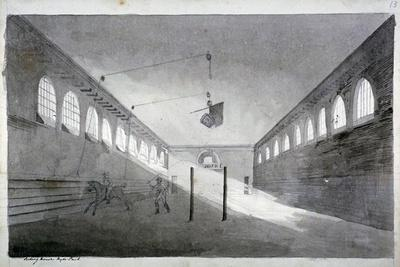 Interior View of the Riding House, Hyde Park, London, C1811