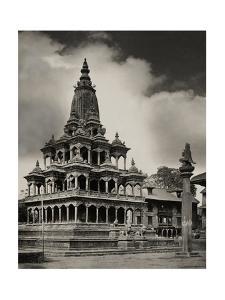 The Krishna Mandir Temple in Patan, Nepal by John-Claude White