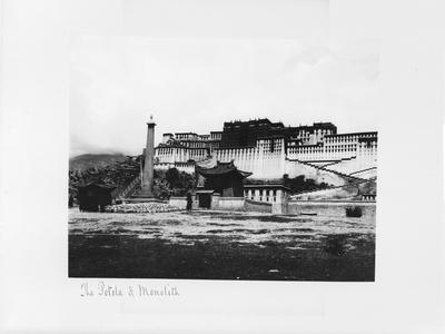The Potala and Monolith, Lhasa, Tibet, 1903-04